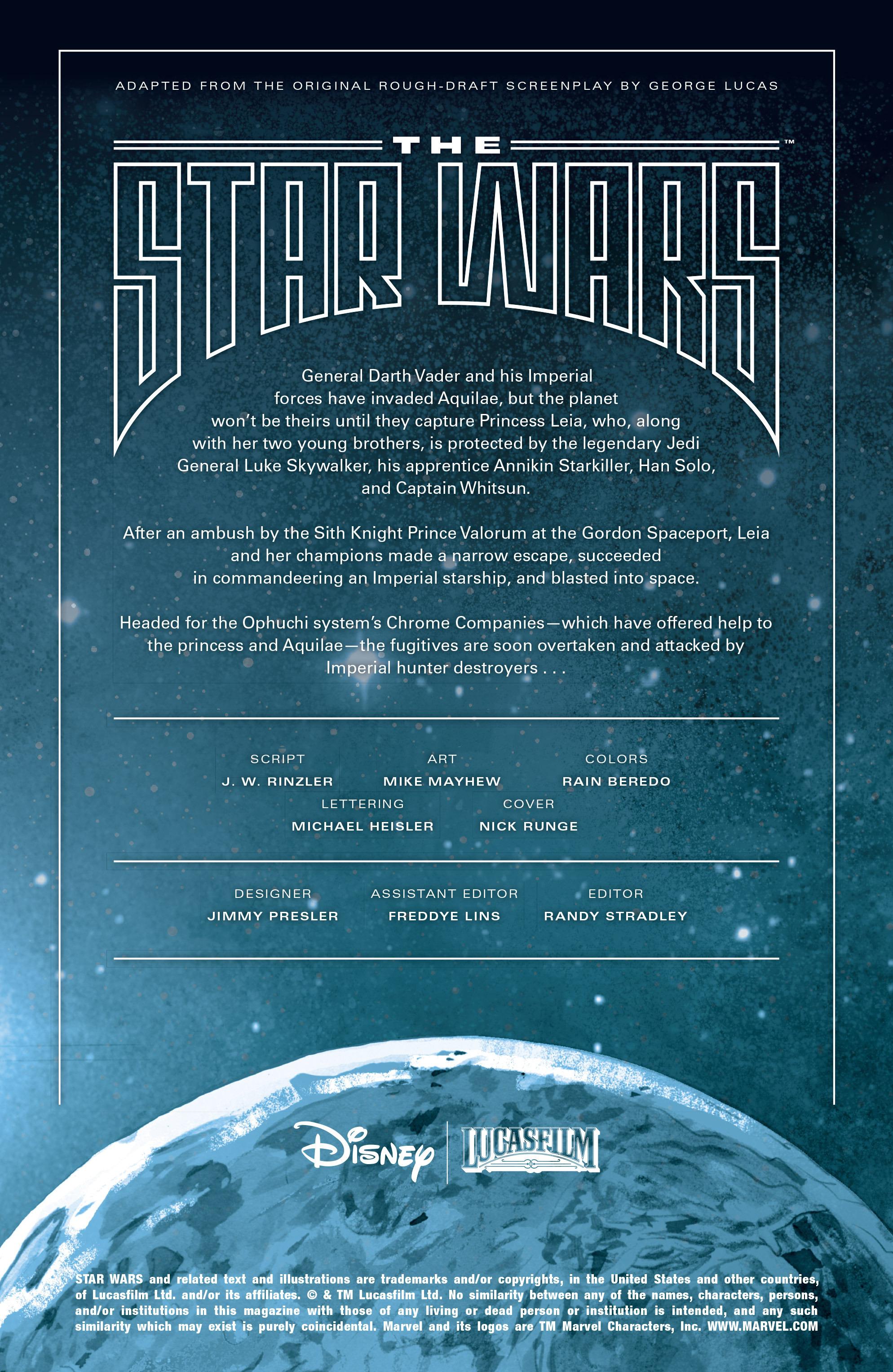THE STAR WARS comic (2015, Marvel edition) Vol.7 2
