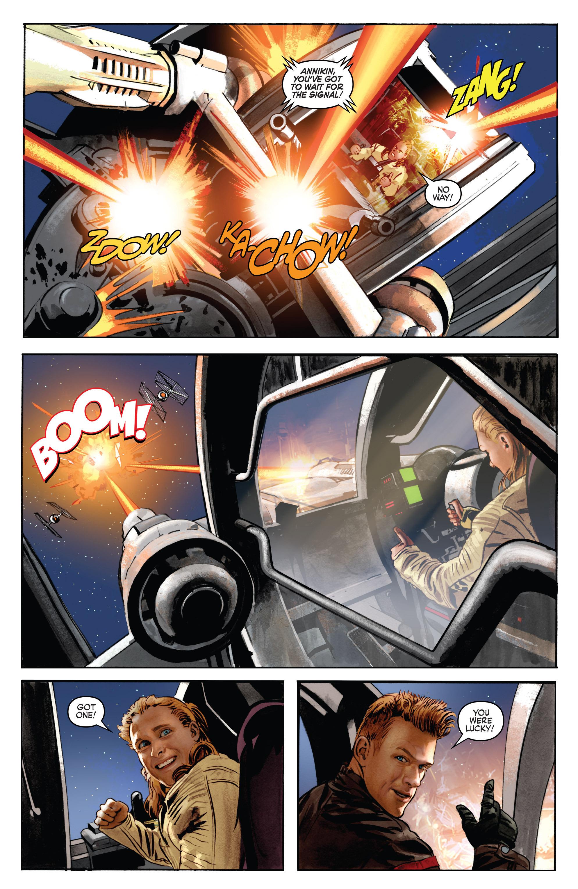 THE STAR WARS comic (2015, Marvel edition) Vol.7 3