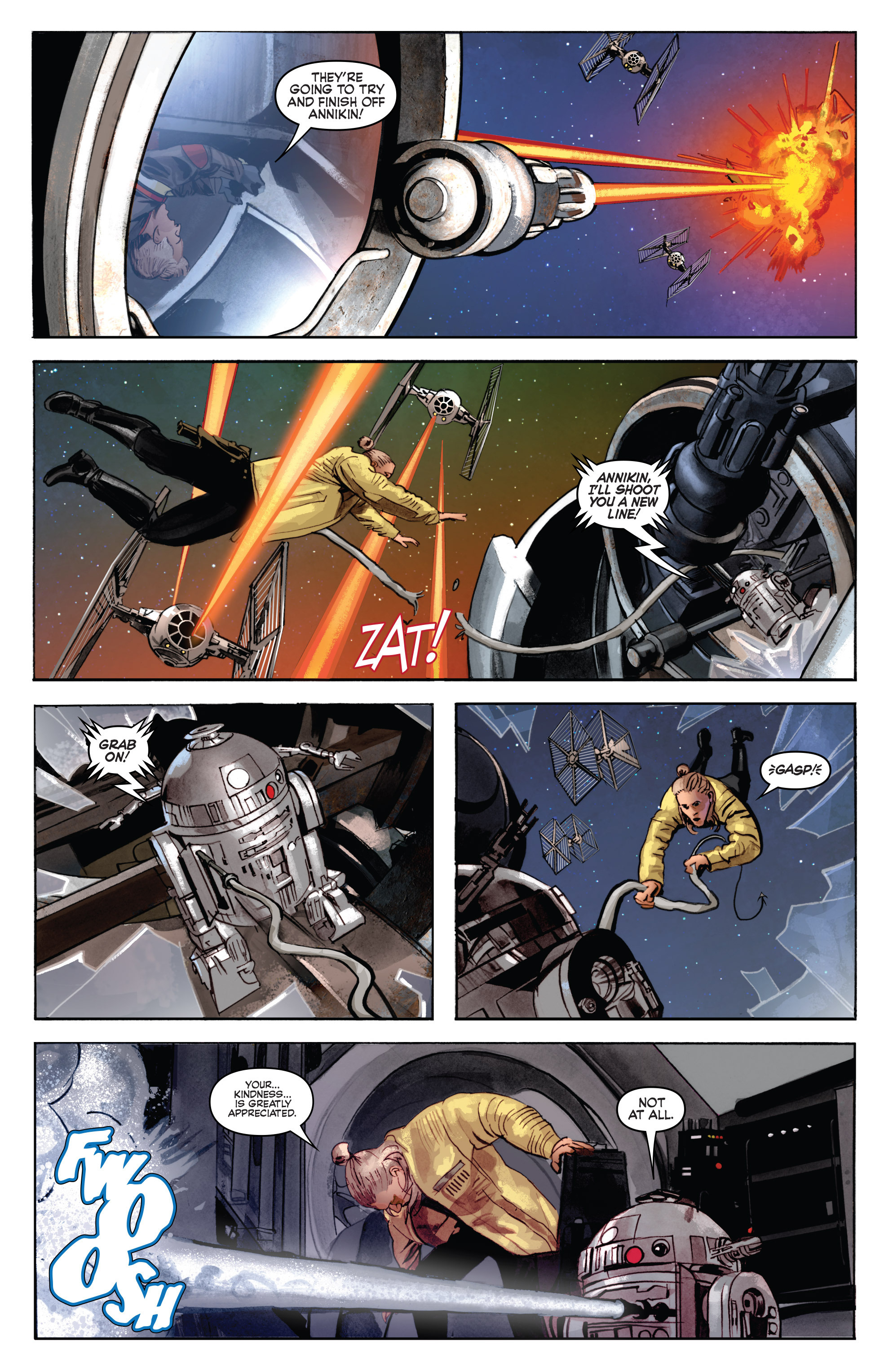 THE STAR WARS comic (2015, Marvel edition) Vol.7 6