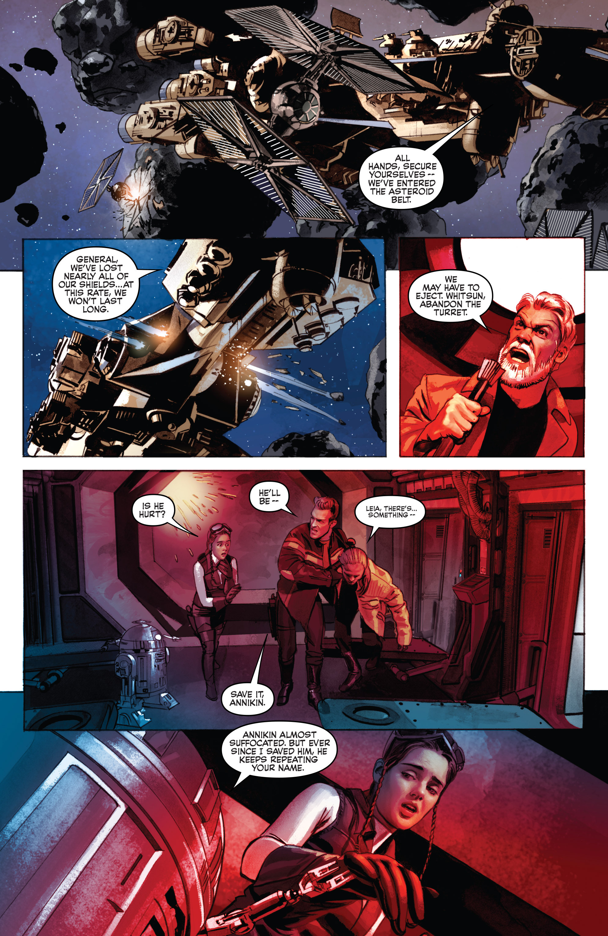 THE STAR WARS comic (2015, Marvel edition) Vol.7 7