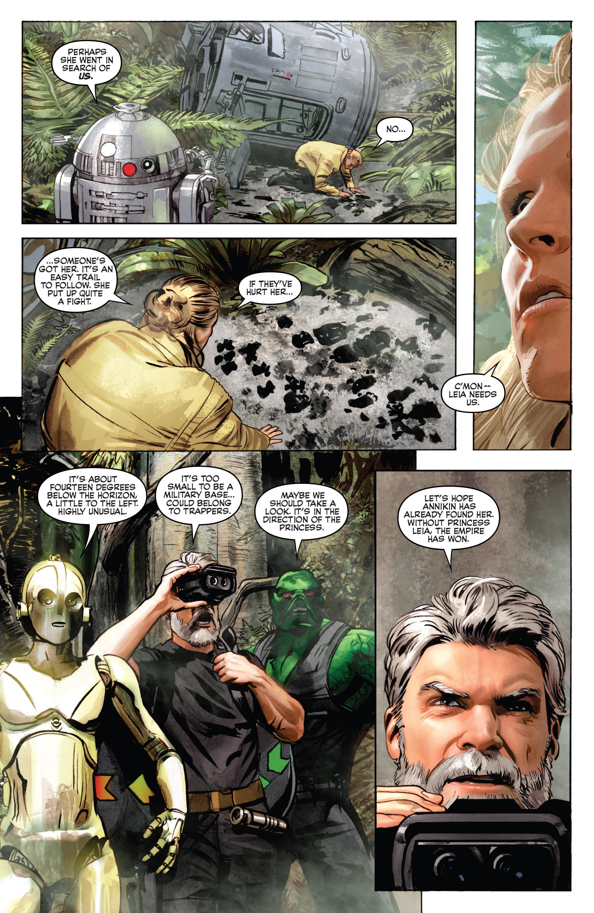 THE STAR WARS comic (2015, Marvel edition) Vol.7 15