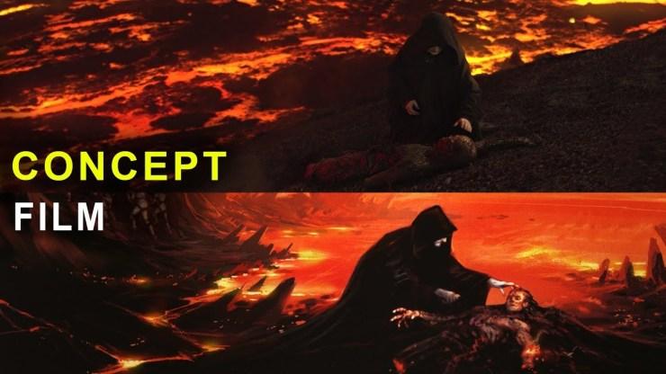 Star Wars Revenge of the Sith | Concept Art vs Film 1