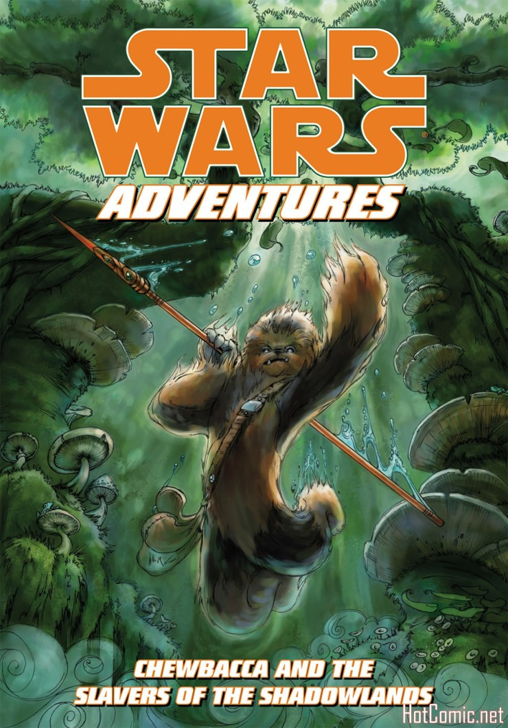 Star Wars Adventures - Chewbacca and the Slavers of the Shadowlands