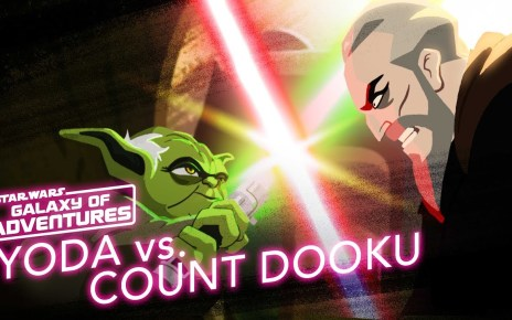 Yoda vs. Count Dooku - Size Matters Not | Star Wars Galaxy of Adventures
