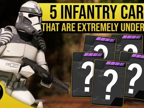 5 Underrated/Underused star cards for Infantry - STAR WARS Battlefront II