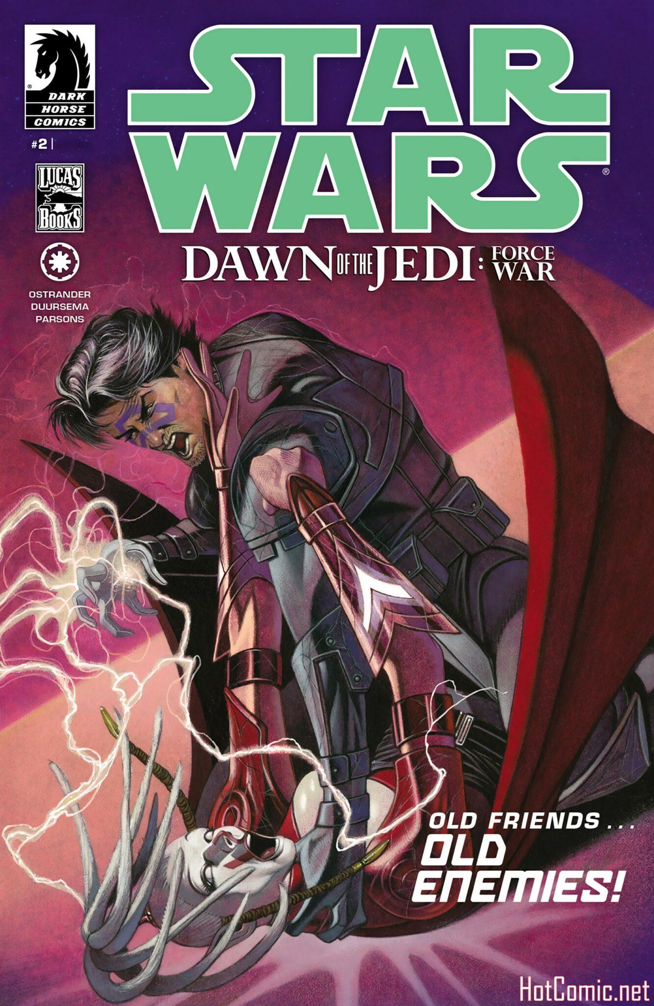 Star Wars Dawn of the Jedi - Force War Issue #2