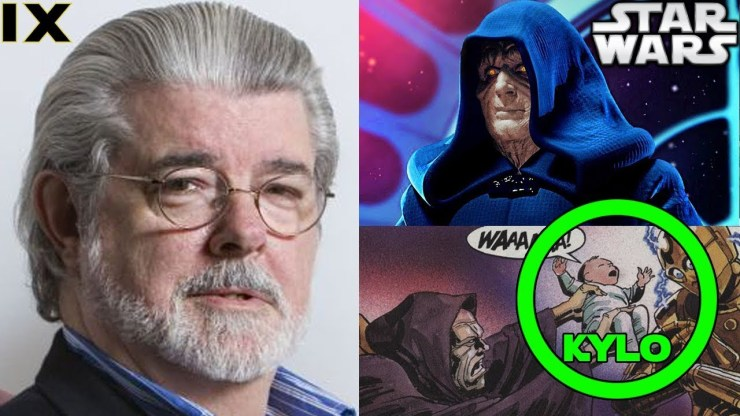 George Lucas Version of Palpatine's Return Revealed...Let's Read it - Star Wars 9 1