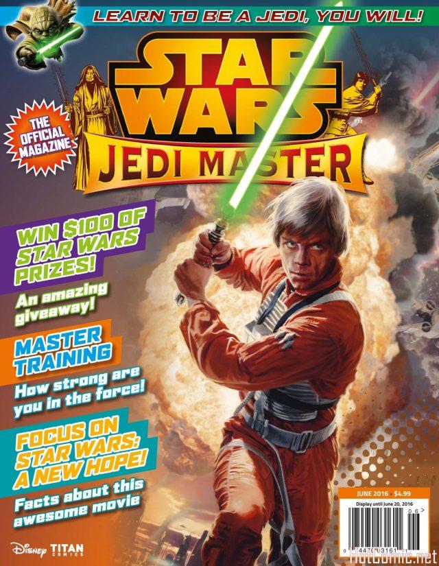 Star Wars Jedi Master Magazine Issue #4 1
