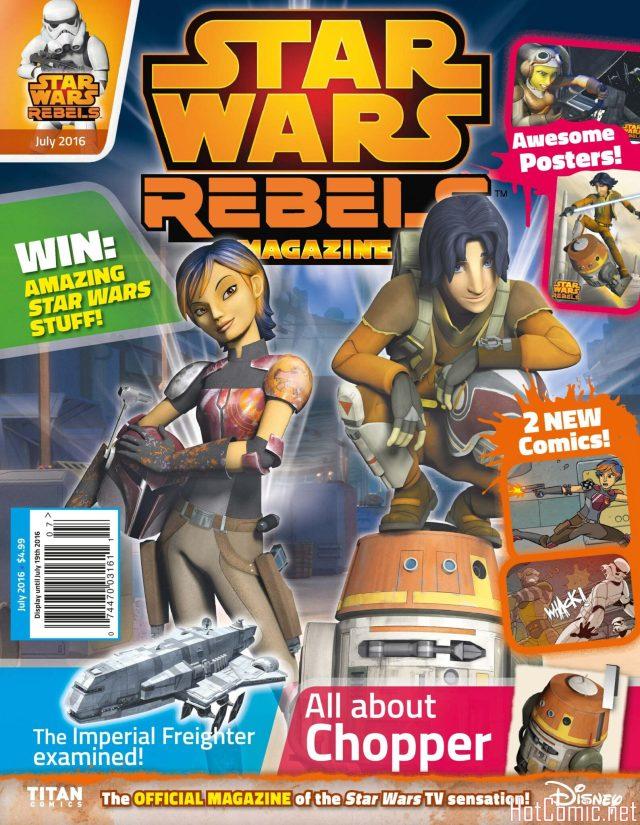 Star Wars Rebels Magazine Issue #5 1
