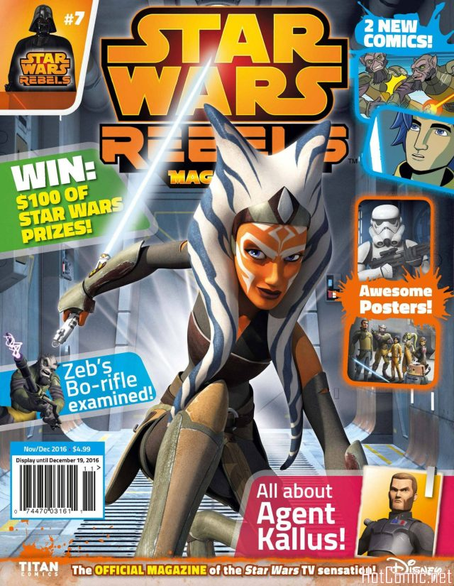 Star Wars Rebels Magazine Issue #7 1