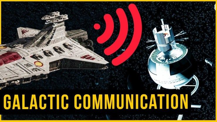 How Did The Galactic Communication Network Work?   Star Wars Tech