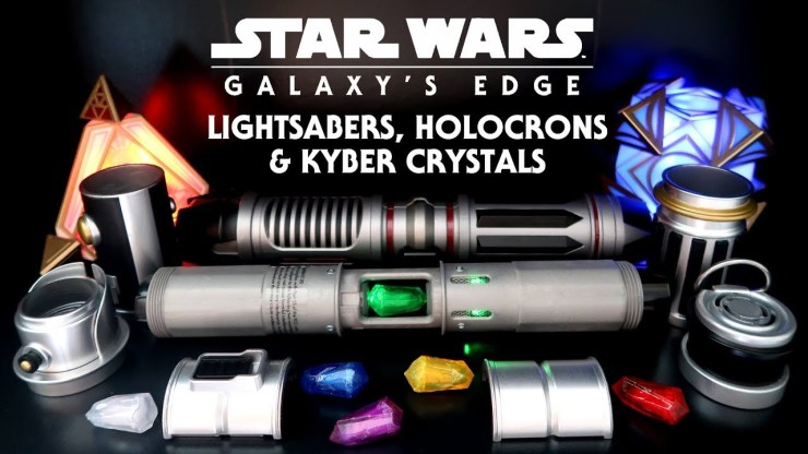 Star Wars Galaxy's Edge: Lightsabers, Holocrons, Kyber Crystals