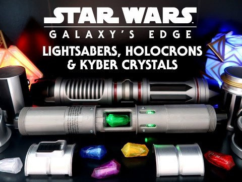 Star Wars Galaxy's Edge: Lightsabers, Holocrons, Kyber Crystals 6