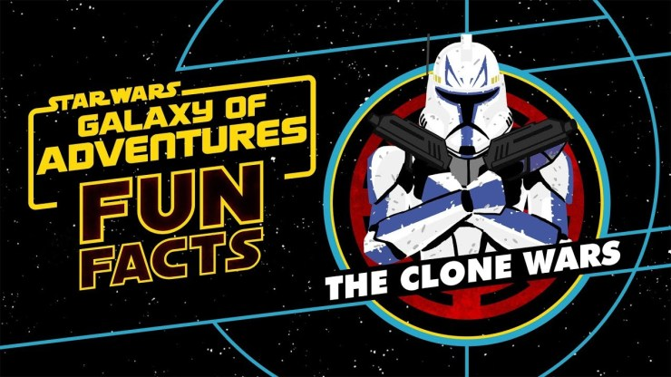 The Clone Wars   Star Wars Galaxy of Adventures Fun Facts