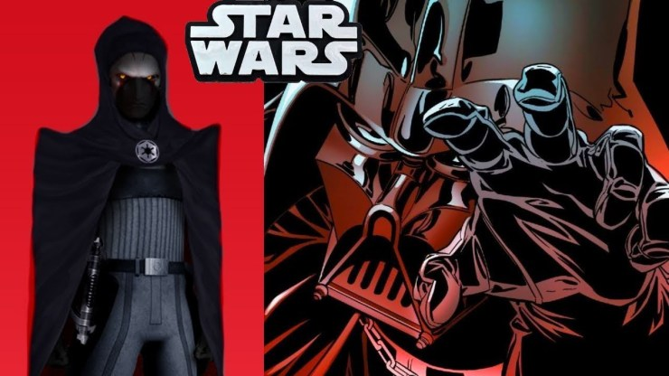 The Inquisitor That HATED Darth Vader Most!!(CANON) - Star Wars Comics Explained 1