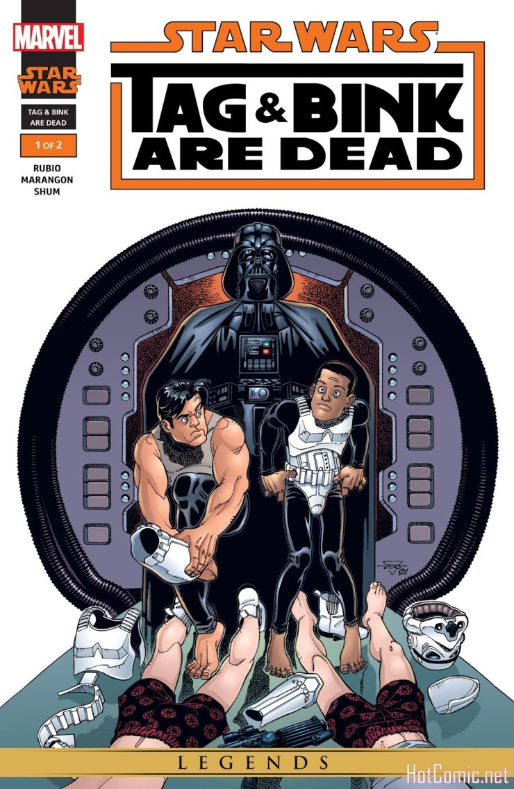 Star Wars: Tag & Bink Are Dead