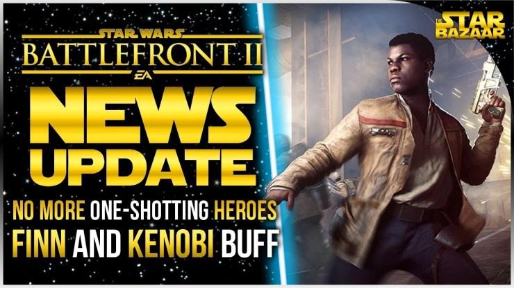 Finn Health On Kill, New Milestones, Obi-Wan Buff   Star Wars Battlefront 2 Update 1