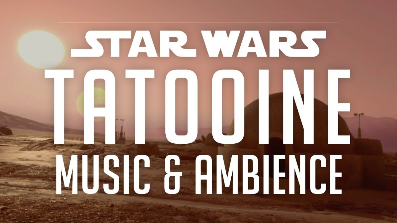 Star Wars Music & Ambience | Tatooine, Desert Sounds