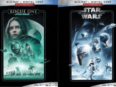 Star Wars Bluray Covers