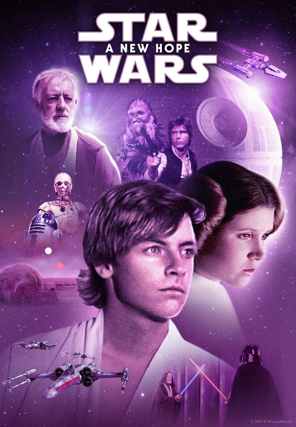 High Resolution Star Wars Retro Wallpaper