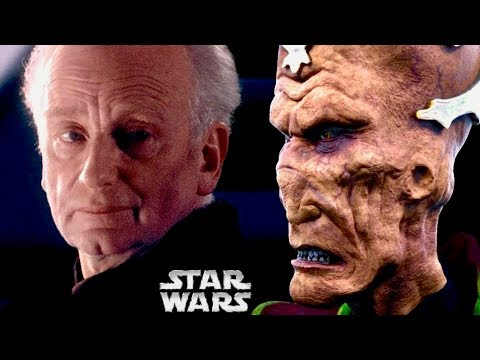 """The FIRST Time Darth Sidious Called Darth Plagueis """"Wise"""" and Why! (Legends) 1"""
