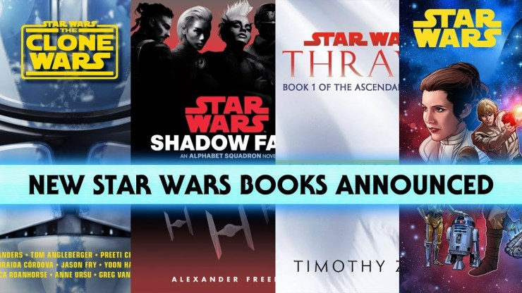 New Thrawn Trilogy, Star Wars Books and Comics Announced - NYCC 2019 1