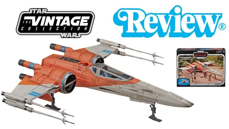 Star Wars Vintage Collection Poe Dameron's X-Wing Fighter Review! 1