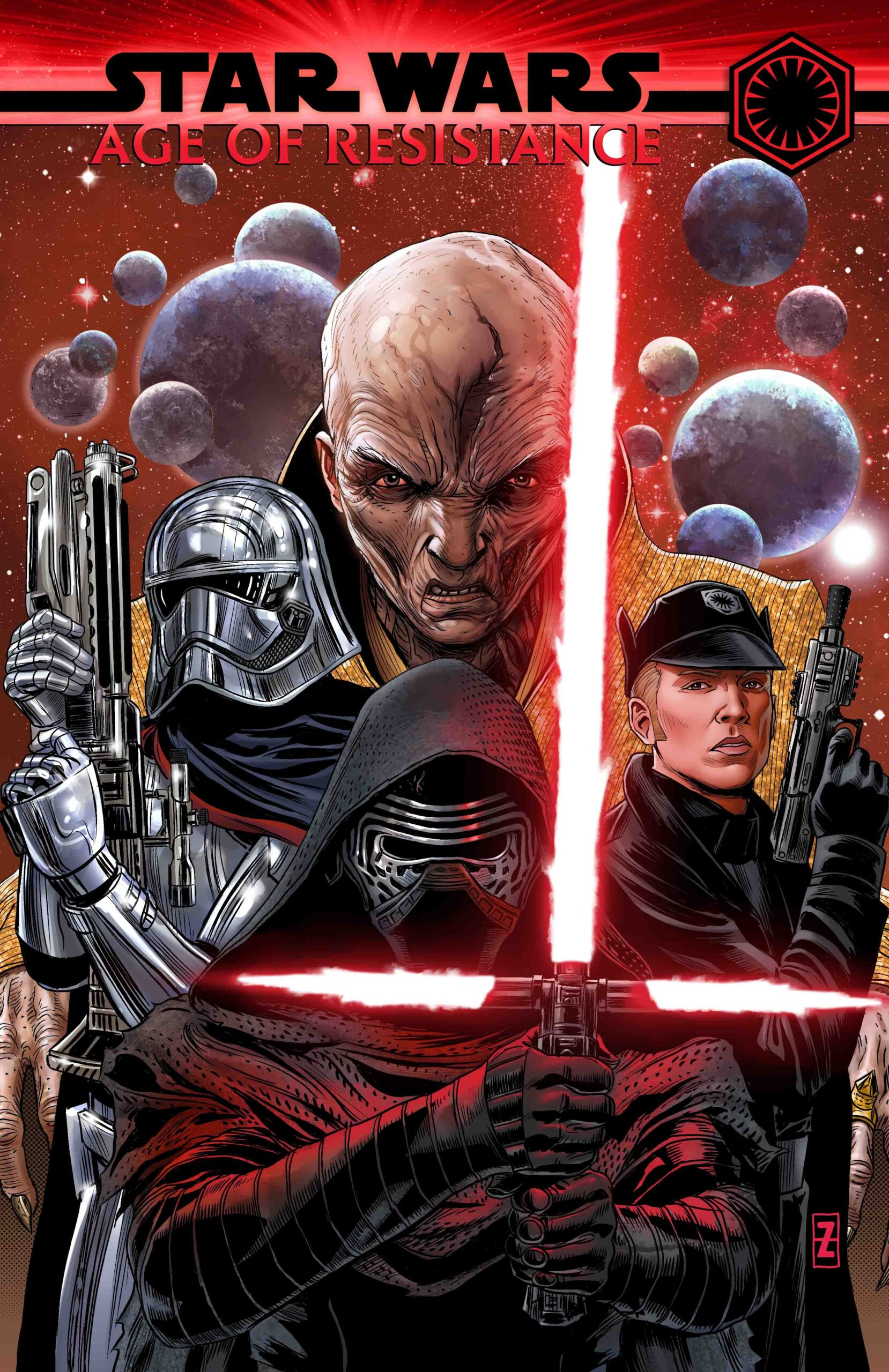 Star Wars Age Of Resistance Villains Tpb 2019