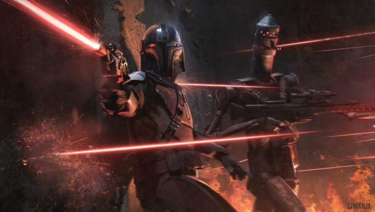 Star Wars The Mandalorian Concept Art