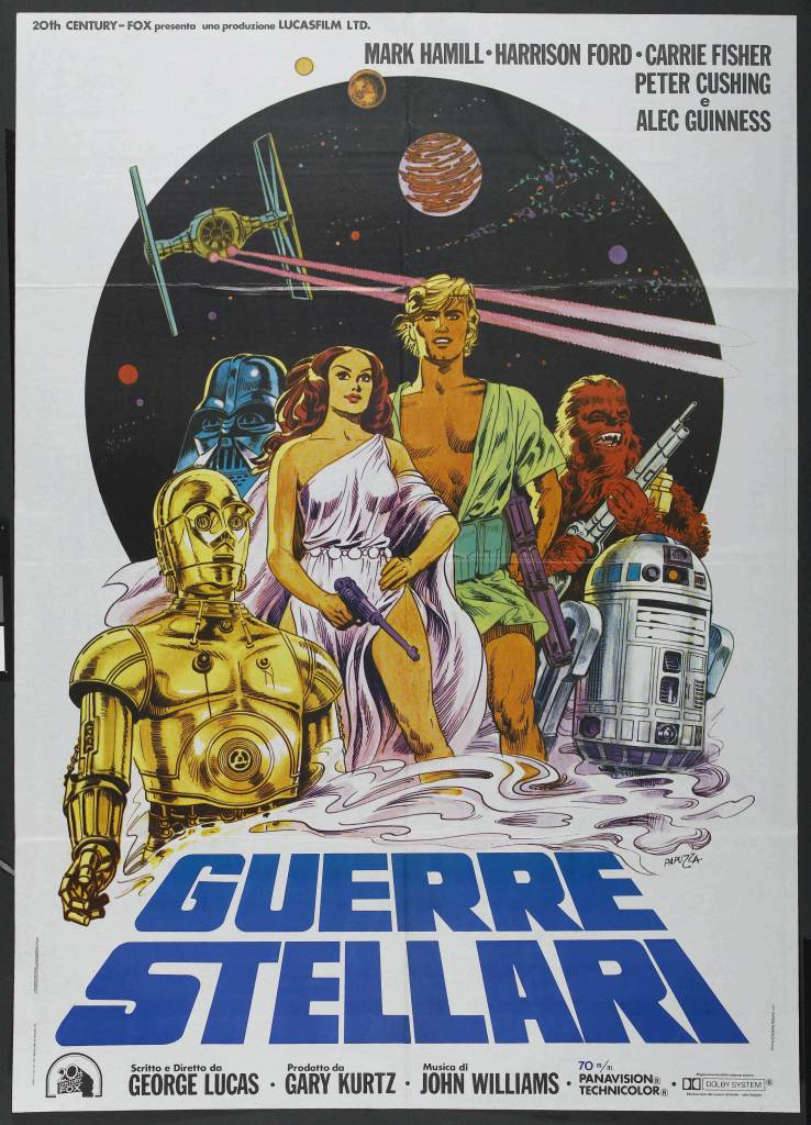 20 Beautiful Star Wars Episode IV - A New Hope Vintage Posters 7