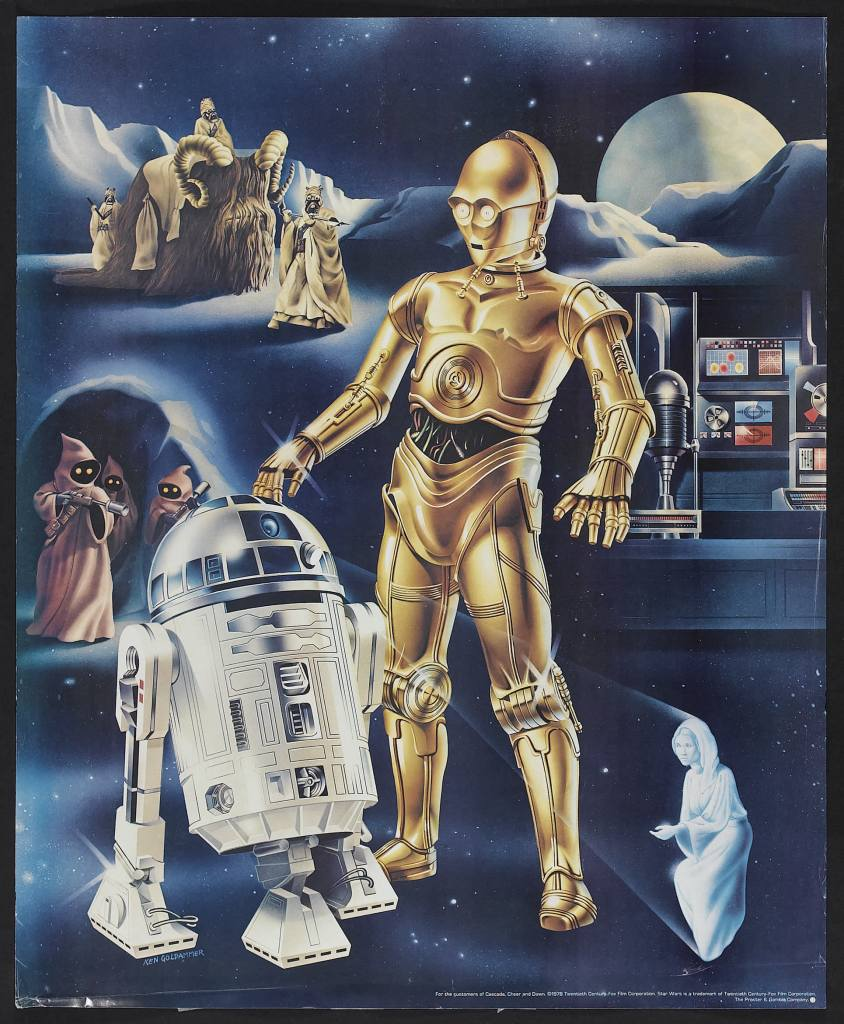 20 Beautiful Star Wars Episode IV - A New Hope Vintage Posters 12