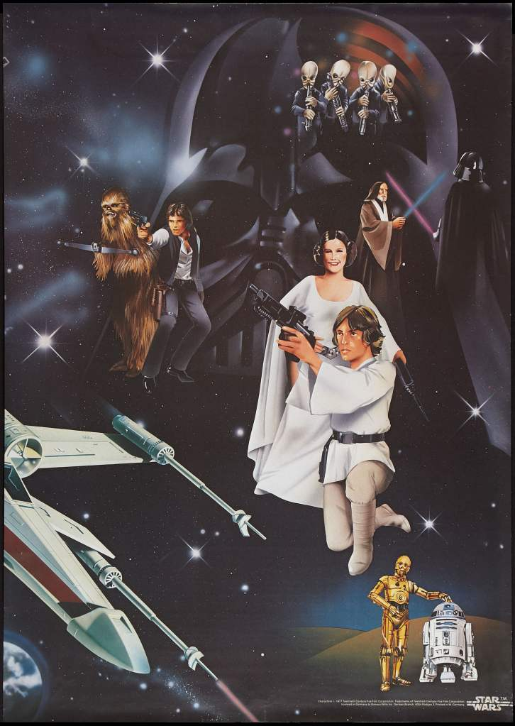 20 Beautiful Star Wars Episode IV - A New Hope Vintage Posters 13