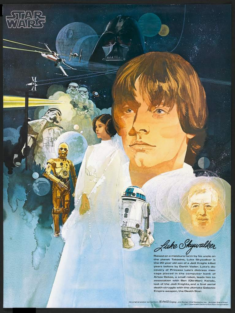 20 Beautiful Star Wars Episode IV - A New Hope Vintage Posters 14