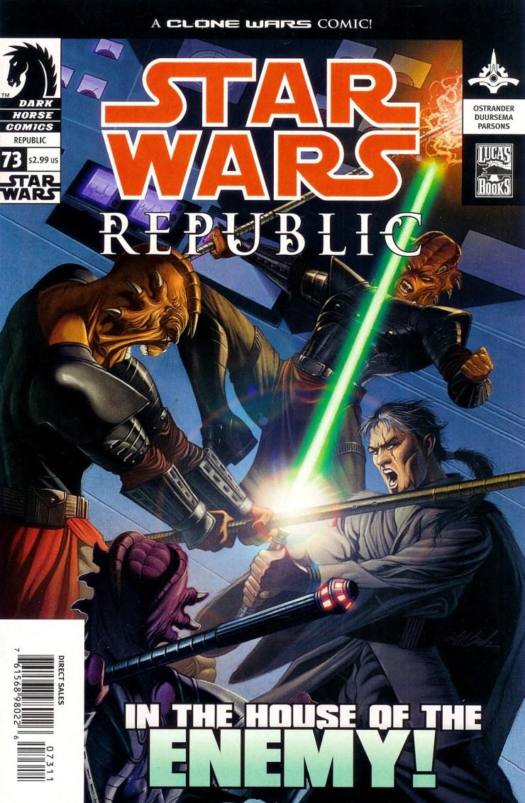Star Wars: Republic 73: Trackdown