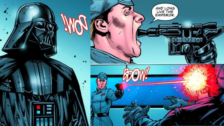 The Imperial Officers That Were Roasted By Darth Vader