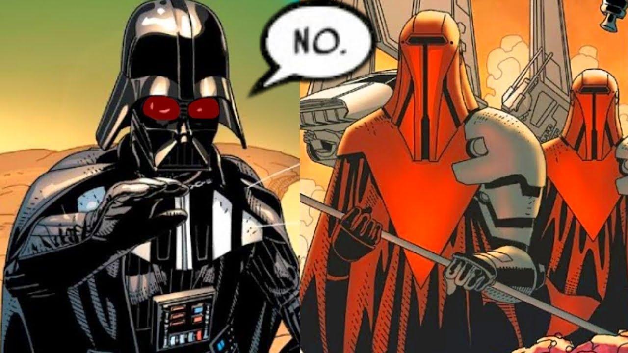 The Royal Guards That Betrayed Darth Vader Canon