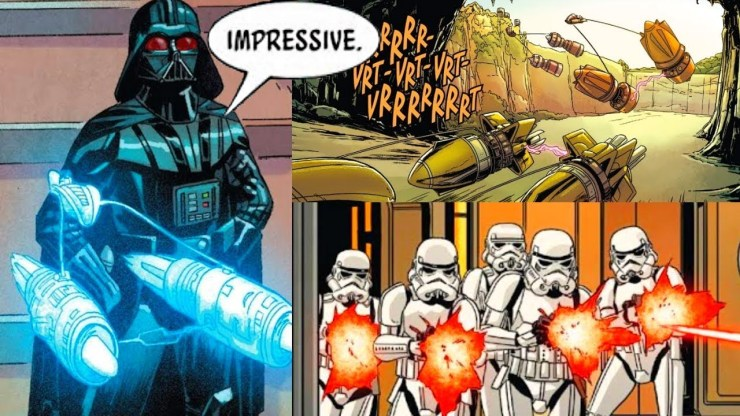 When a Jealous Darth Vader Stopped a Podrace (Canon) 1