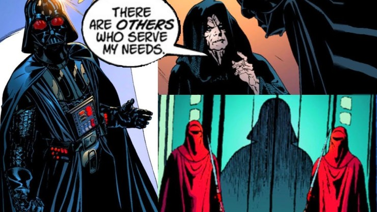 When Darth Vader Met His Replacement (Palpatine Trolling) 1