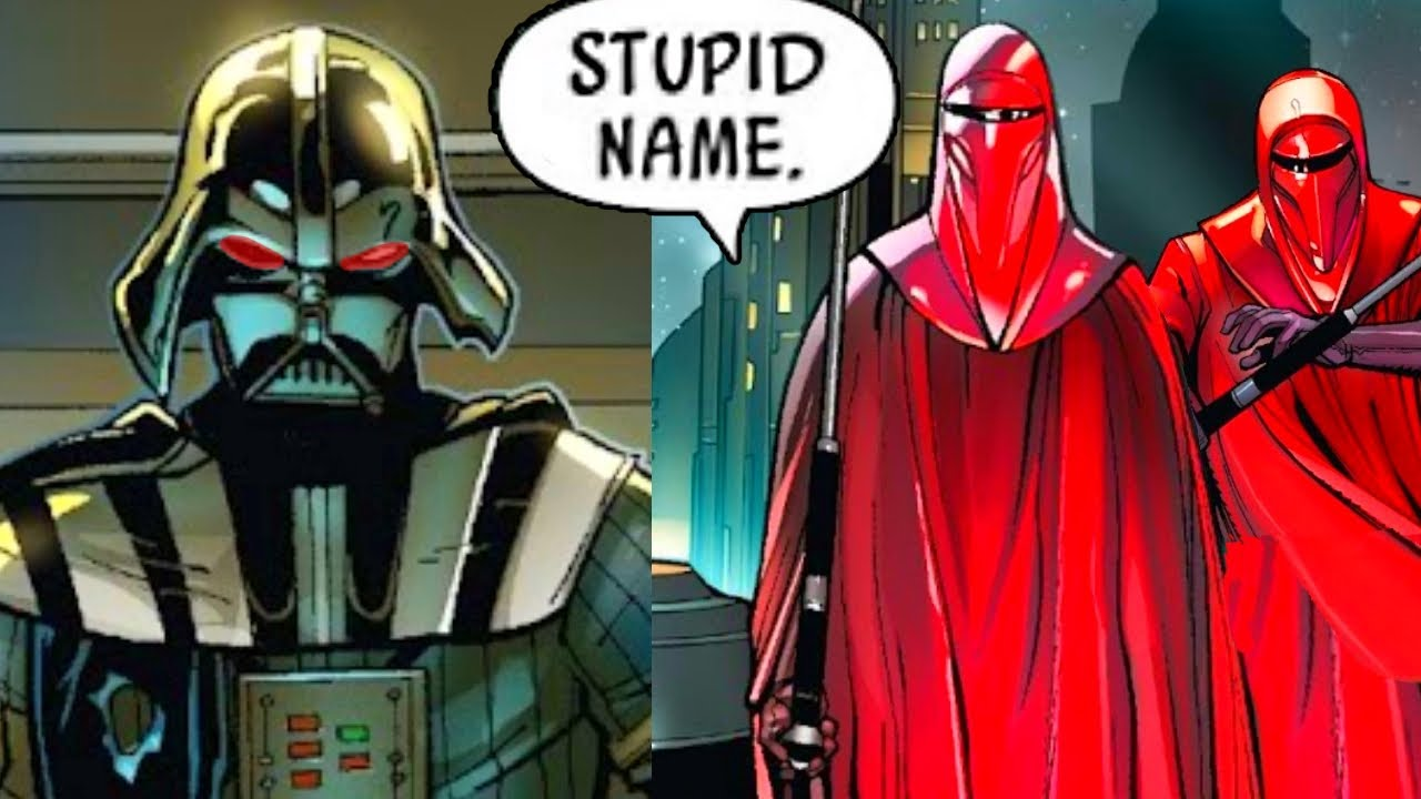 Two Royal Guards That Didn T Recognize Darth Vader Canon