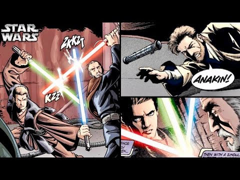 Why Did Obi-Wan Want Anakin to Use Two Lightsabers (Dooku)