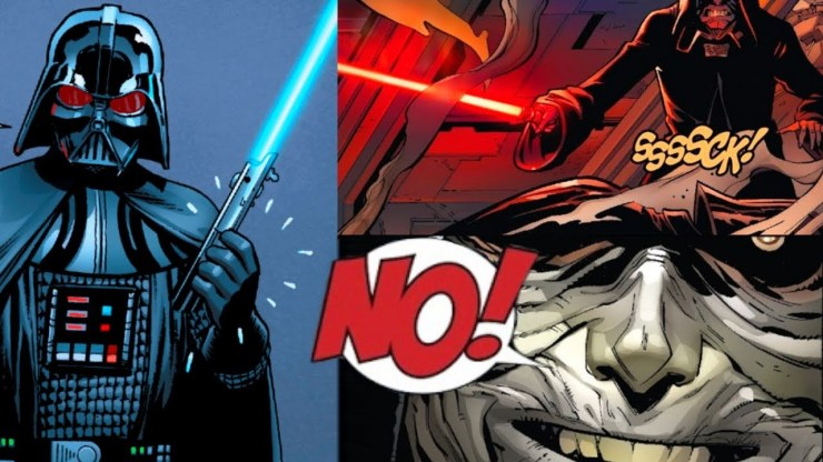 Why Palpatine HATED Darth Vader's Blue Jedi Lightsaber 1