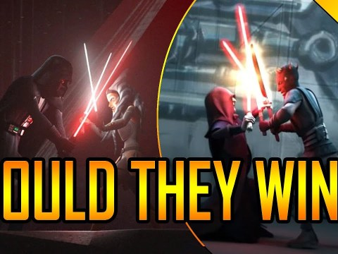 Could Darth Maul and Ahsoka Really Destroy Sidious and Vader? 6