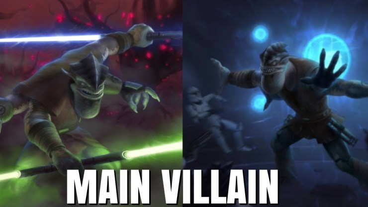Pong Krell Was Almost The Main Villain of The Clone Wars S4 1