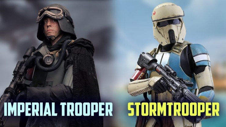 Stormtroopers VS Imperial Army Troopers(What's the difference?) 1