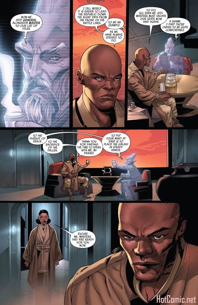 Star Wars: Mace Windu Issue #1 1