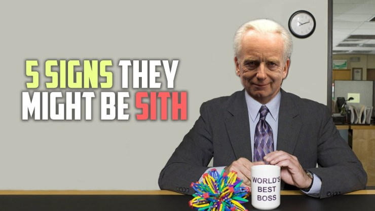 5 Signs You Might Be A Sith Lord