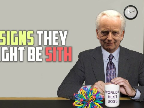 5 Signs You Might Be A Sith Lord 1