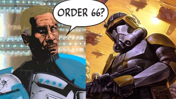 Captain Rex Found Out Commander Cody Executed Order 66