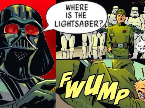 When an Imperial Officer Lost Darth Vader's Lightsaber (Canon) 5