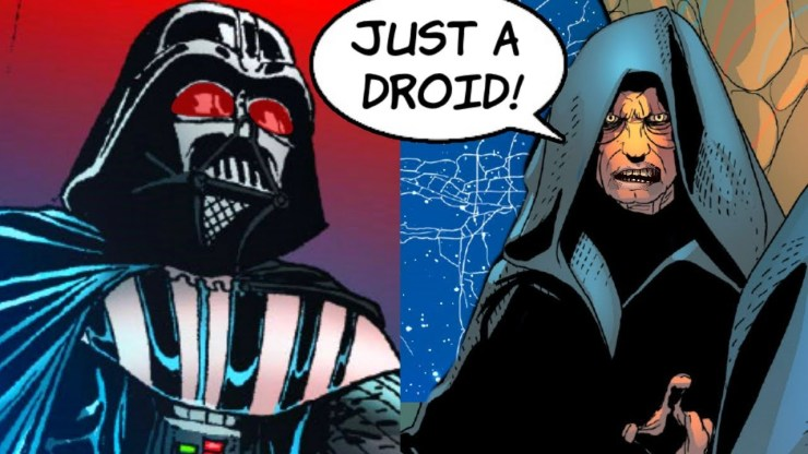 When Darth Sidious called Darth Vader a DROID!! (Canon) 1
